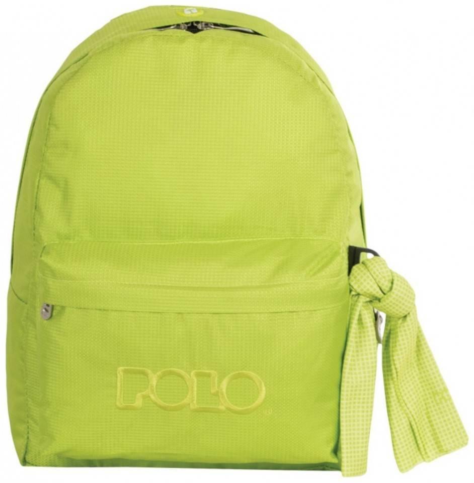 Κάνε το Σχολική τσάντα Polo Classic Μονή Λαχανί Ανοιχτό 9-01-135-86 (2018)  δικό σου μόνο στο HappyPlace. 2aae9ffb9b2